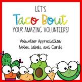 Volunteer Appreciation Thank You Fiesta Theme