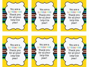 Volunteer Gift Signs