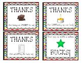 Volunteer Gift Tags (editable)