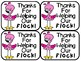 Everyone (Staff/Volunteers/Parents/Helpers) Thank You Appreciation Notes