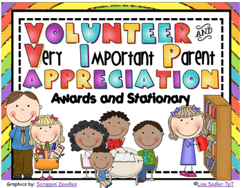 Volunteer Recognition Awards and Themed Paper