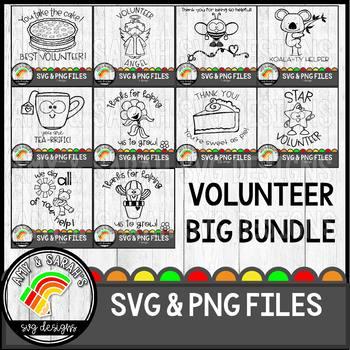 Volunteer SVG Design Bundle
