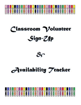 Volunteer Sign-Up and Availability Tracker