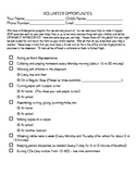 Volunteer Survey