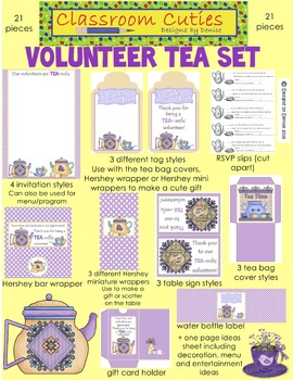 Volunteer Tea Packet