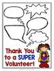 Volunteer Thank You Note Card - Volunteer Appreciation - S