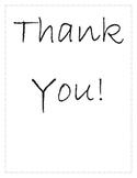 Volunteer Thank You Book