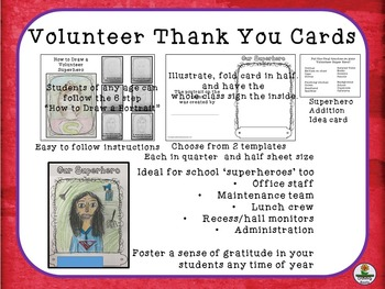 Volunteer Thank You Cards