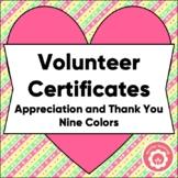 volunteer certificate teaching resources teachers pay teachers