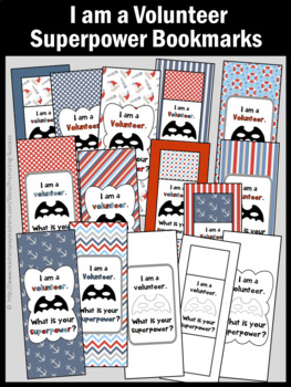 Volunteer Thank You End of the Year Appreciation Gift Bookmarks