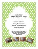 Volunteer Thank You Gift Ideas - Green Owl Theme