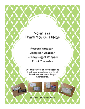 Volunteer Thank You Gift Ideas - Green Owl Theme
