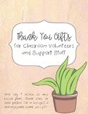 Volunteer Thank You Gift Tag (English & Spanish)