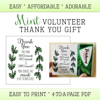 Volunteer Thank you Gift - Appreciation - Easy - Mint - Nail Polish