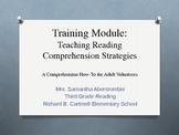 Volunteer Training Module - Reading Comprehension