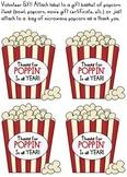 Volunteer gift with popcorn