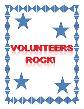 Volunteers Rock!