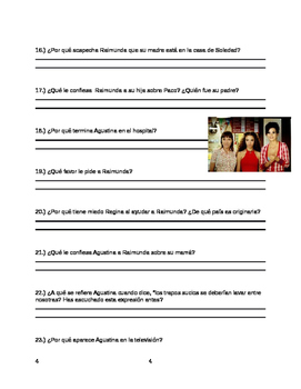 Volver Movie Guide Questions in Spanish / English and PowerPoint with Answer Key