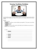 Voracious Vocabulary Worksheet