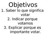 Votar y Eleccion