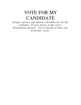 Vote for My Candidate