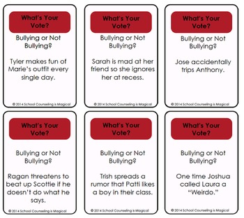 Vote No to Bullying! (Board Game)