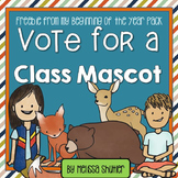 Social Studies Sample- Vote for a Class Mascot