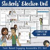 Vote for me - EFL task-based lesson plan