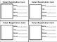 Voter Registration Card for Students