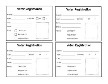 Voter Registration Cards