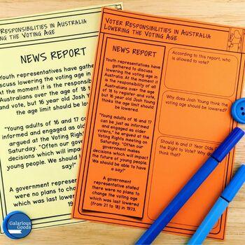 Voter Responsibilities in Australia (Year 6 HASS)