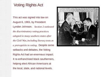 Voter Suppression PowerPoint