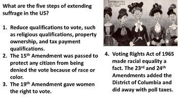 Voter and Voter Behavior