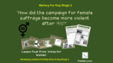 Votes for Women: 'How did the campaign for female suffrage