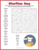 Voting and Election Day Word Search
