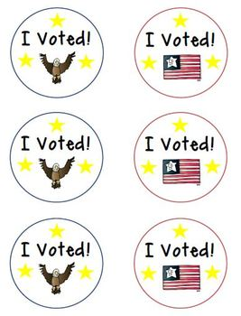 Voting Badges for your Voters!