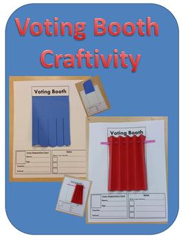 Voting Booth Craftivity