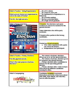 Tutorial - Election Time in Tutorial Town - Study Guide & Answer Key