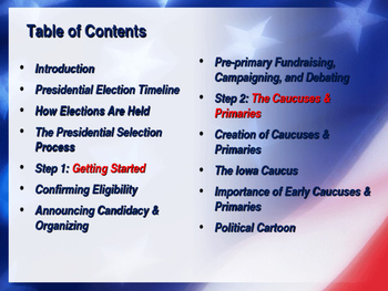 Voting & Elections - Selecting the President of the United States