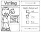 Voting Reader for Kindergarten and First Grade Social Stud