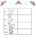 Voting Lesson for Kindergarten
