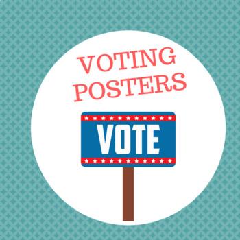 Voting Posters (Classroom Displays)