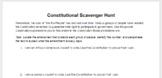 Voting Rights Amendments; Constitutional Scavenger Hunt