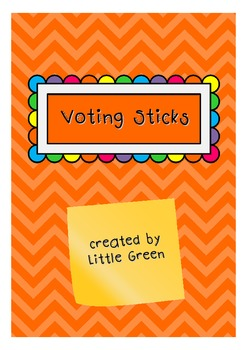 {FREE} Voting Sticks