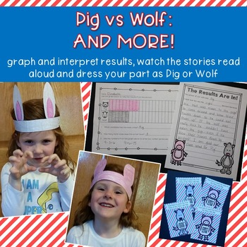 Three Little Pigs & Big Bad Wolf {point of view & voting unit}