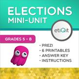 Elections, Voting & Youth Activism Middle School Mini-Unit | Prezi & Printables