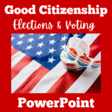 Voting and Elections PowerPoint | Elections and Voting Activity