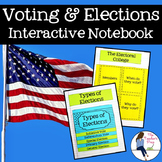 Voting and Elections Interactive Notebook