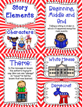 Voting and Elections with: Duck, Grace and Teacher for President Grades 1-3