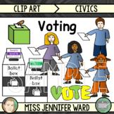 Voting in Australia Clip Art